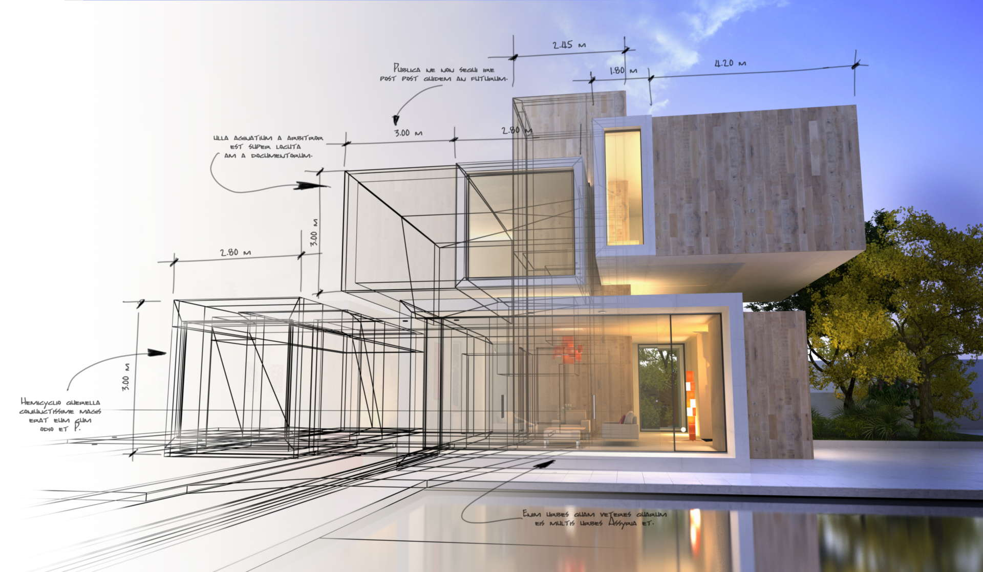Residential design - New building